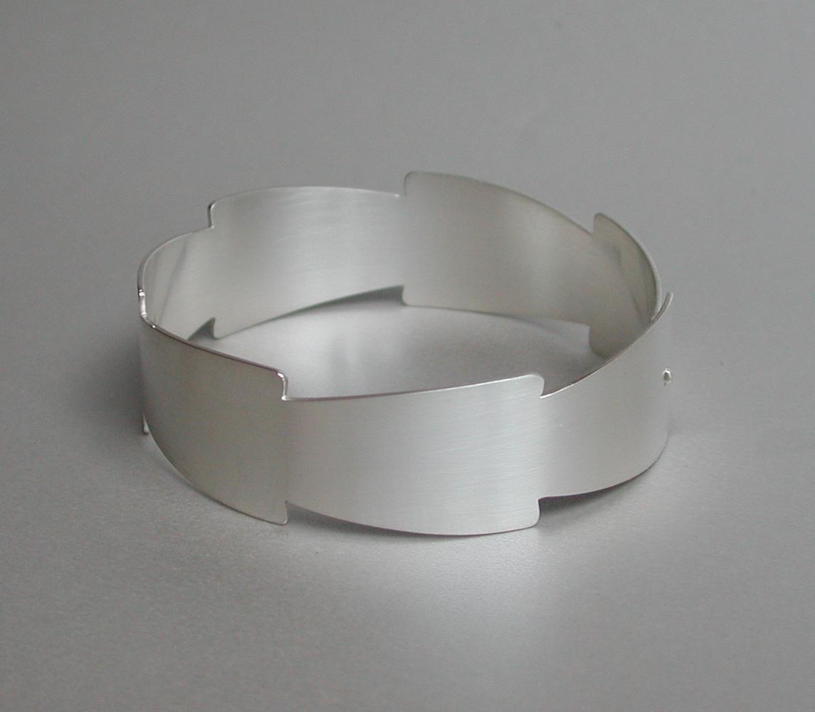 bracelet EQUISETUM silver