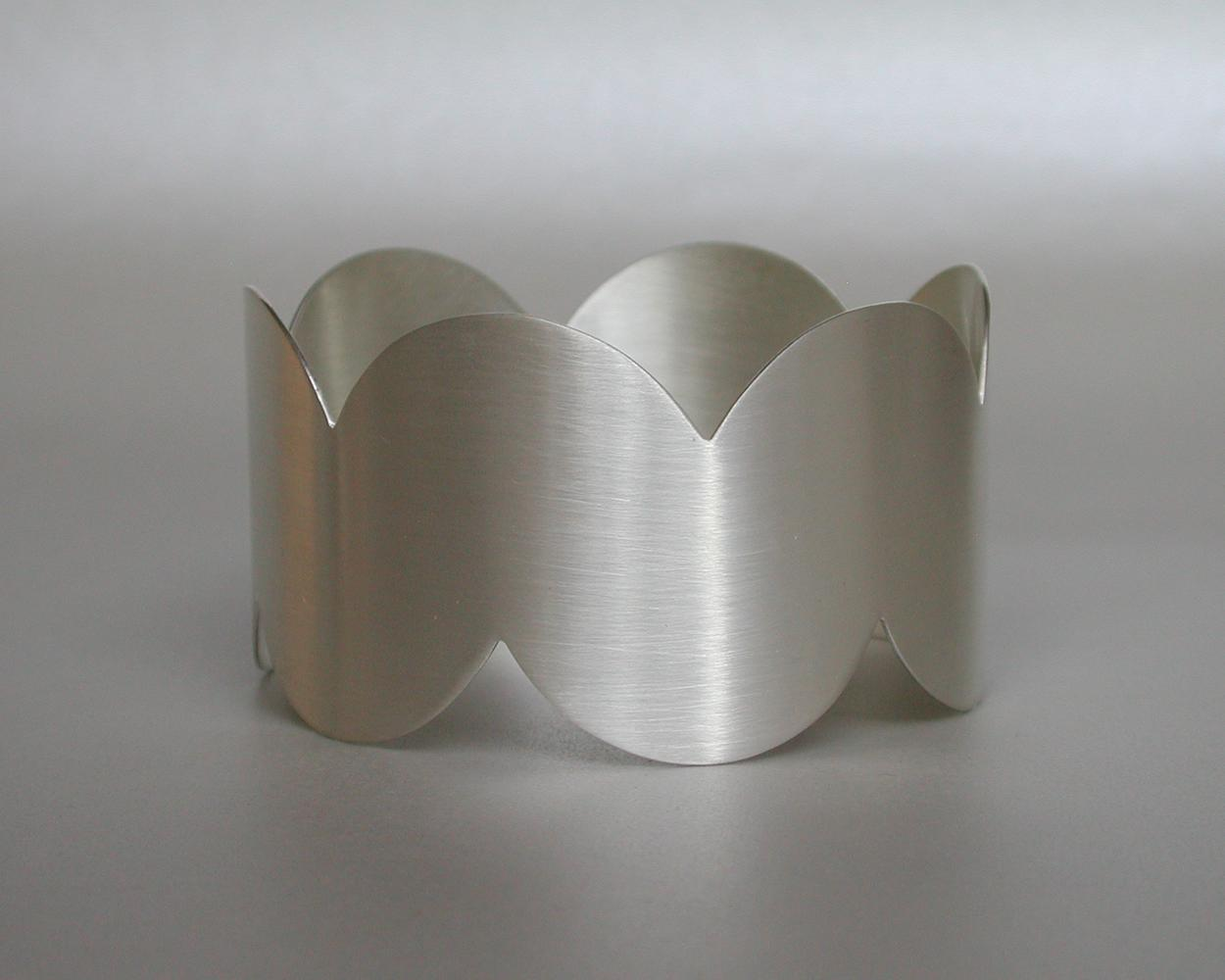 bracelet WAVE BAND silver