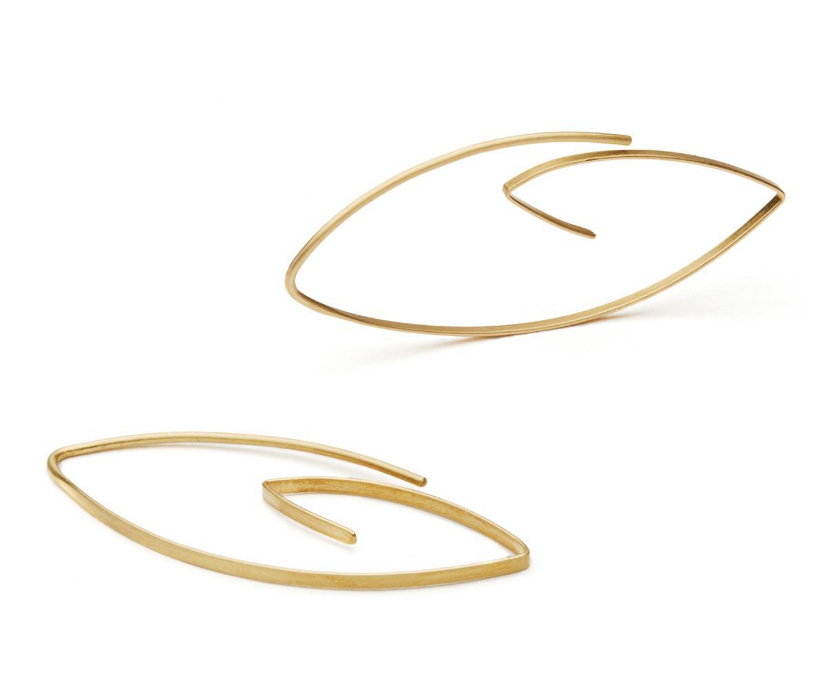 gouden oorbellen boucles d 'oreilles en or