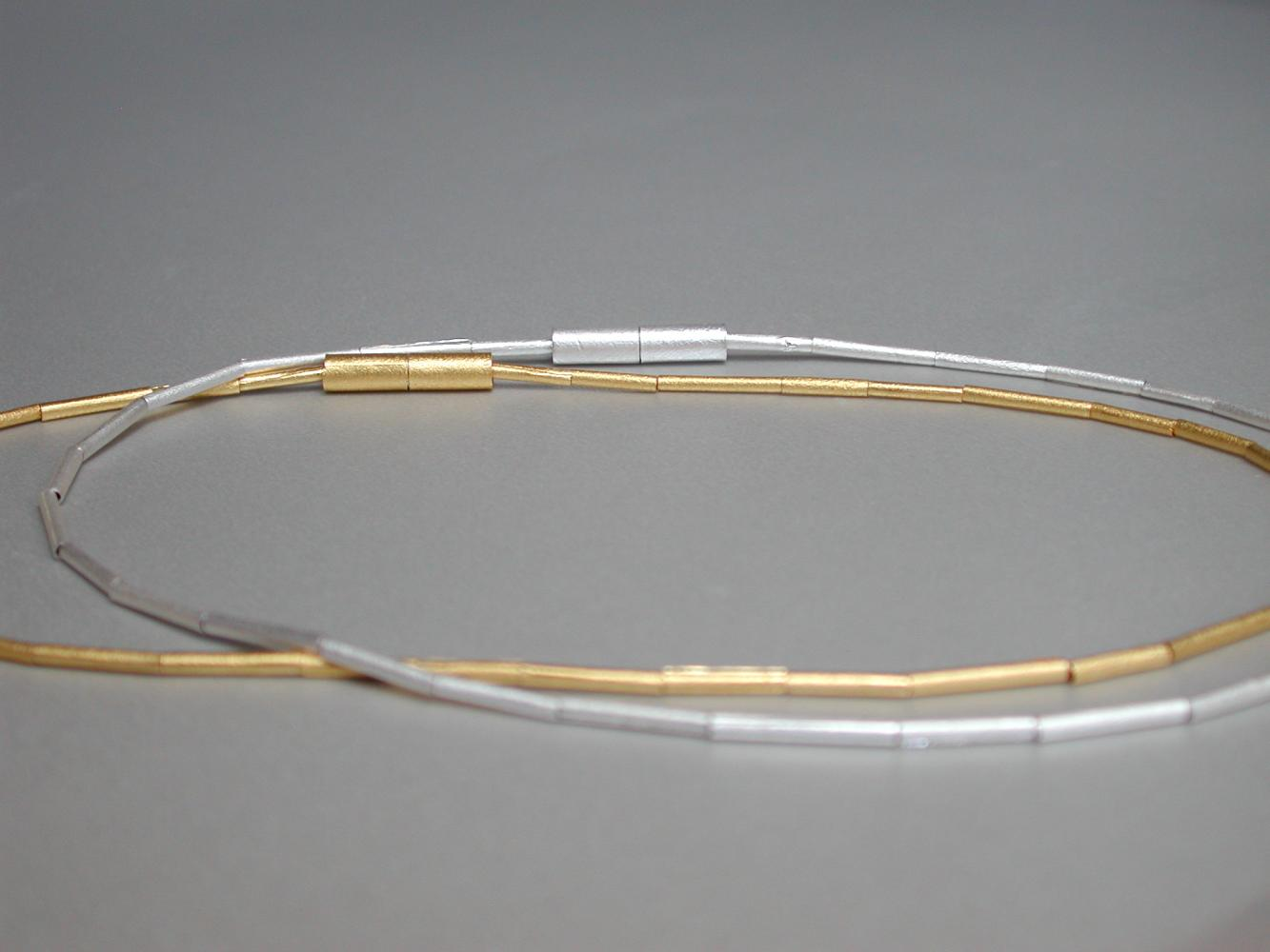 necklace FRAGILE gold or fine silver