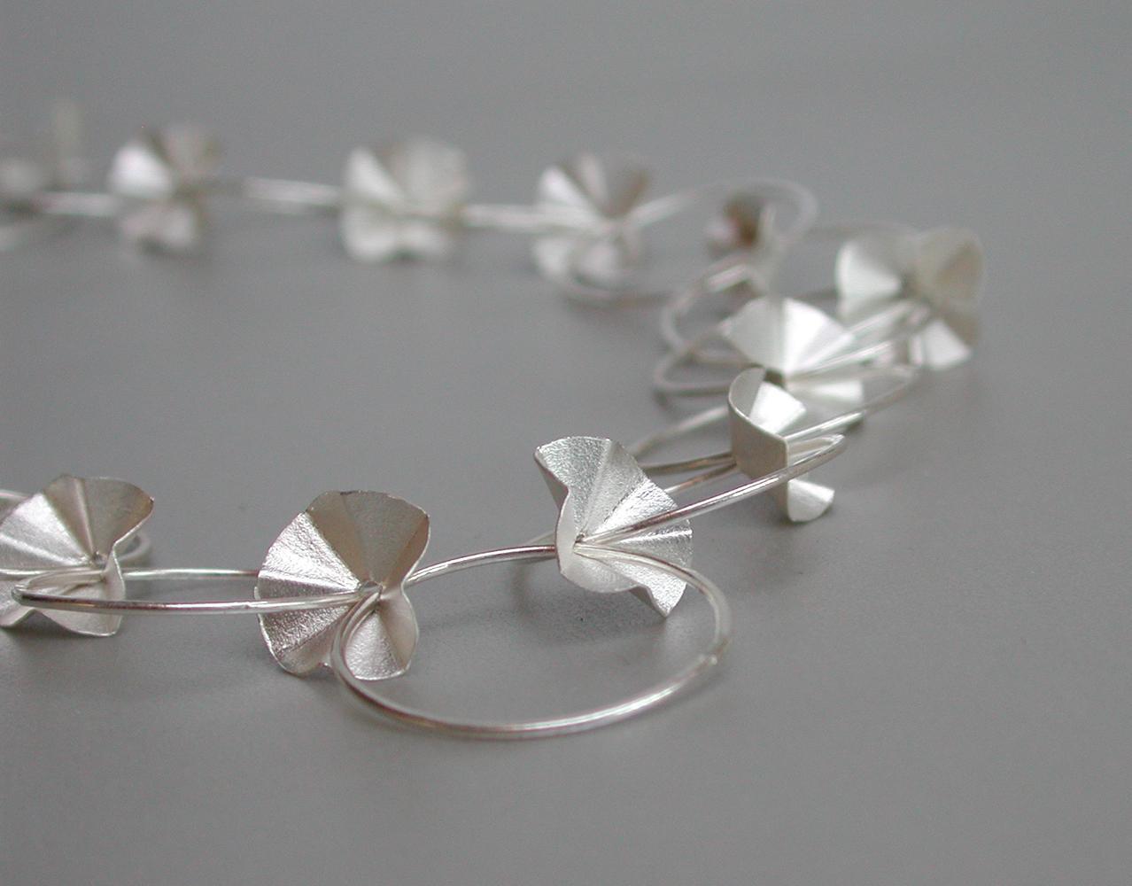 necklace Alfalfa silver