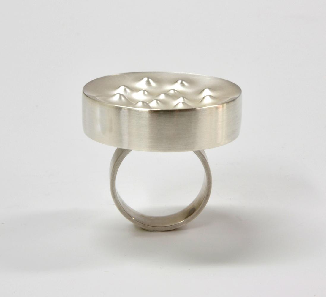ring BOILING WATER silver