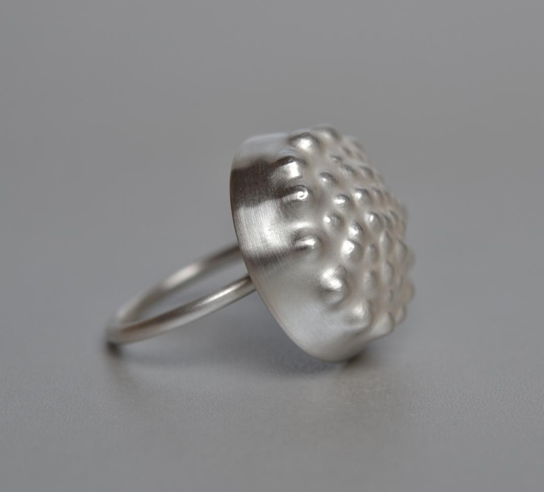 ring MARGUERITE silver