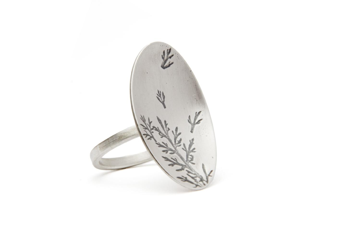 bague argent ring zilver silver gold